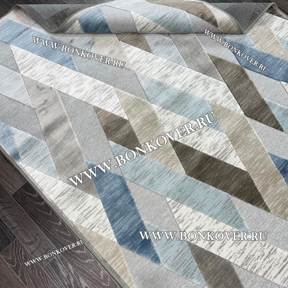 Ковер для Гостиной из Артшелка Дизайн 06 Геометрический