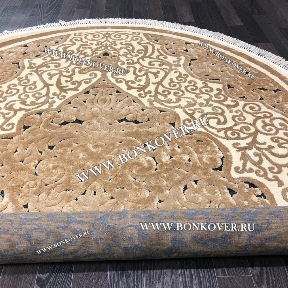 Бельгийский ковер для гостиной Овальный арт 0893