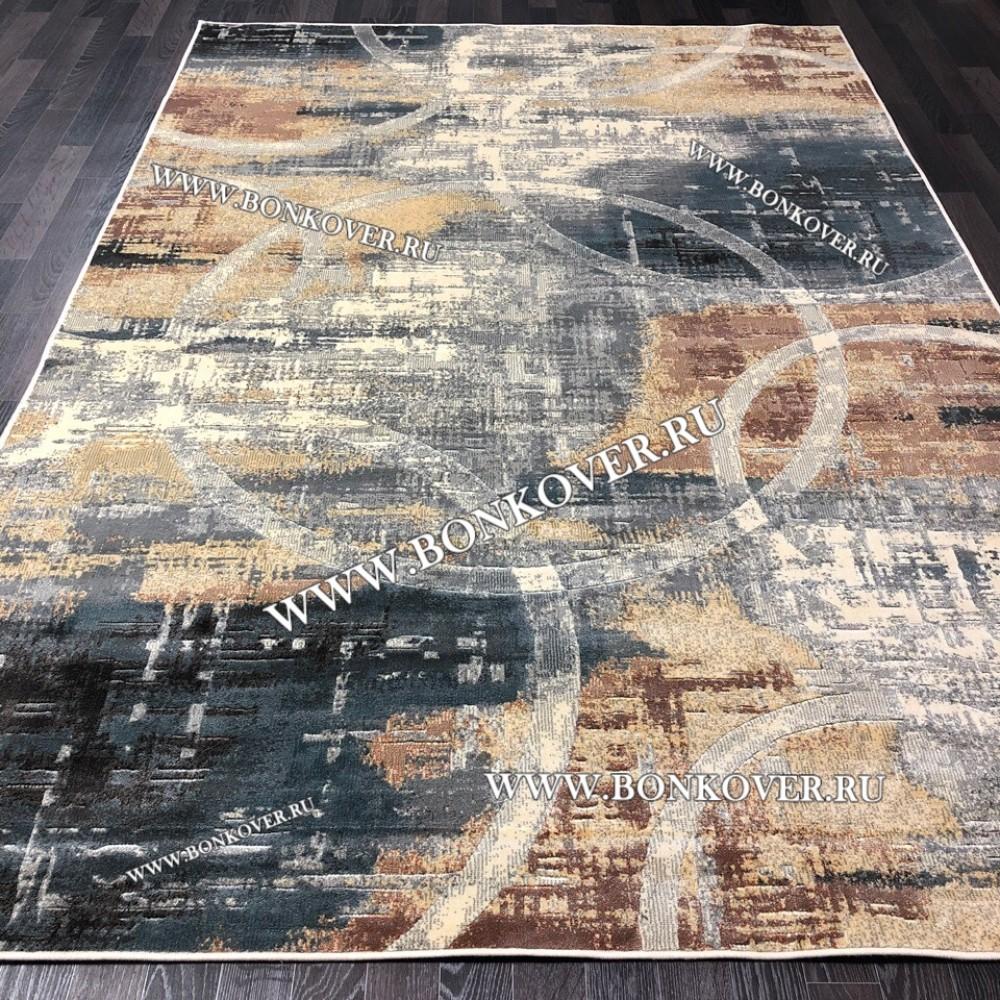 Бельгийский Ковер из Вискозы Дизайн 06 Абстракция