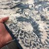Бельгийский Ковер из Вискозы Дизайн 12 Абстракция Синий