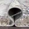Абстрактный Ковер из Вискозы Дизайн 02 Коротковорсный Овальный