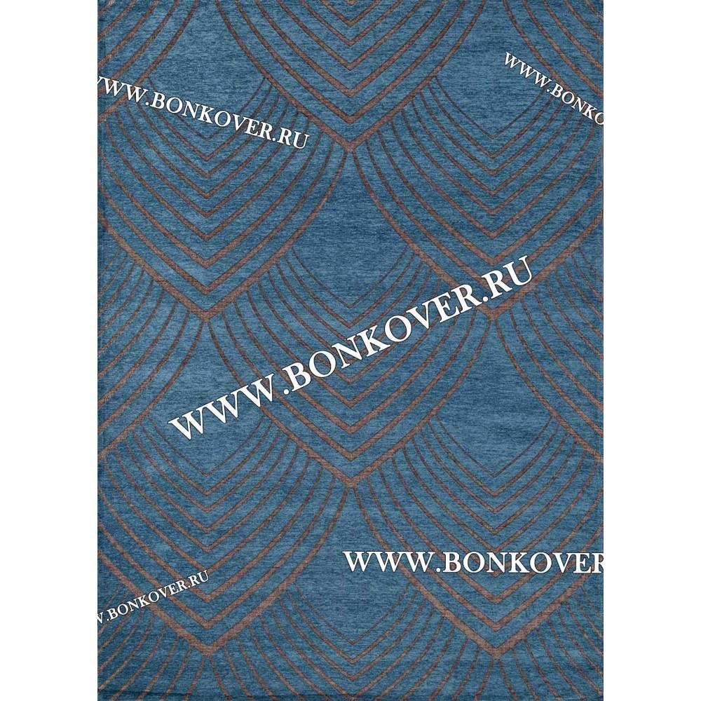 Безворсовый Ковер Лофт Дизайн 20 Бирюзовый